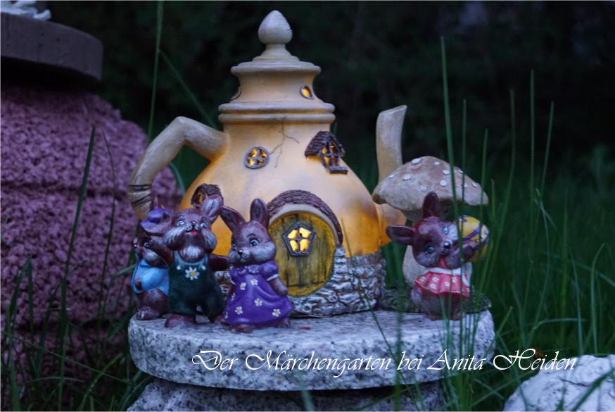 Das eigene Buch im Märchengarten