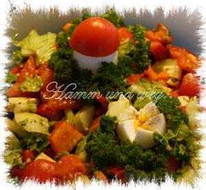 """Bunter Salat """"Immer ein Genuss"""""""