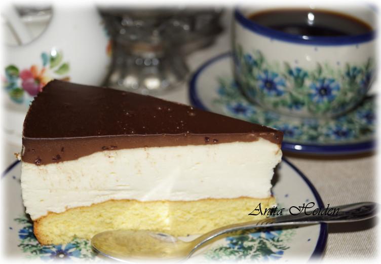 Pudding-Sahne-Schoko Kuchen